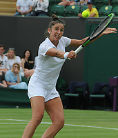 Tennis - 2021 All England Championship - Week One - Day Four (Thursday) - Wimbledon<br /> Angelique Kerber v Sara Sorribes Tormo<br /> <br /> Sara Sorribes Tormo of Spain<br /> <br /> CreditCOLORSPORT/Andrew Cowie