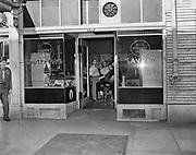 Y-481010-01.  Knotty Pine Tavern, 1321 SW Washington, Portland. Presently occupied by Scooter McQuades Cafe & Bar. Oct 10, 1948