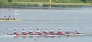 Chungju, South Korea.  Final Women's Eights, ITA W8+2013 FISA World Rowing Championships, Tangeum Lake International Regatta Course.15:53:44  Sunday  01/09/2013 [Mandatory Credit. Peter Spurrier/Intersport Images]<br /> <br /> 1USA W8+. Bow. Amanda POLK (b) , Kerry SIMMONDS (2) , Emily REGAN (3) , Lauren SCHMETTERLING (4) , Grace LUCZAK (5) , Meghan MUSNICKI (6) , Victoria OPITZ (7) , Caroline LIND (s) , Katelin SNYDER<br /> <br /> 2ROU W8+. Bow. Cristina ILIE (b) , Ionelia ZAHARIA (2) , Cristina GRIGORAS (3) , Ioana CRACIUN (4) , Camelia LUPASCU (5) , Andreea BOGHIAN (6) , Roxana COGIANU (7) , Nicoleta ALBU (s) , Daniela DRUNCEA.<br /> <br /> 3CANW8+. Bow. Lisa ROMAN (b) , Jennifer MARTINS (2) , Carolyn GANES (3) , Susanne GRAINGER (4) , Sarah BLACK (5) , Christine ROPER (6) , Natalie MASTRACCI (7) , Cristy NURSE (s) , Kristen KIT.<br /> <br /> 4.     GBRW8+. Melanie WILSON (b) , Caragh MCMURTRY (2) , Louisa REEVE (3) , Beth RODFORD (4) , Jessica EDDIE (5) , Zoe LEE (6) , Katie GREVES (7) , Olivia CARNEGIE-BROWN (s) , Zoe DE TOLEDO. <br /> <br /> 5AUSW8+. Bow. Hannah VERMEERSCH (b) , Renee CHATTERTON (2) , Peta WHITE (3) , Katrina BATEMAN (4) , Tess GERRAND (5) , Alexandra HAGAN (6) , Charlotte SUTHERLAND (7) , Lucy STEPHAN (s) , Elizabeth PATRICK.<br /> <br /> 6NED W8+. Bow. Marleen VERBURGH (b) , Kyra DE VRIES (2) , Aletta JORRITSMA (3) , Janneke VAN DER MEULEN (4) , Kirsten WIELAARD (5) , Dominique Van der PAUW (6) , Rosa BAS (7) , Heleen BOERS (s) , Jonna DE VRIES (c)