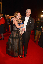 AMANDA HOLDEN and PAUL O'GRADY at the Collars & Coats Gala Ball in aid of Battersea Dogs & Cats Home held at Battersea Evolution, Battersea Park, London on 7th November 2013.