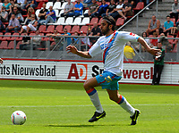 Utrecht The Netherlands 26 July 2009: Pre-season Friendly FC Utrecht vs Italian Serie A team Calcio Catania. The game ends in a well-deserved 0-0 draw. Jorge Martinez on the ball for Catania. 26/07/2009<br /> Credit Colorsport / Richard Wareham