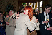 JOHNNY BORREL; FLORENCE WELCH, Dylan Jones hosts a party for Brett Easton Ellis and his new book.- Imperial Bedrooms. Mark's Club. London. 15 July 2010.  -DO NOT ARCHIVE-© Copyright Photograph by Dafydd Jones. 248 Clapham Rd. London SW9 0PZ. Tel 0207 820 0771. www.dafjones.com.