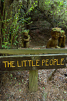 The Little People Wood Sculptures at The Trees of Mystery, Klamath, California