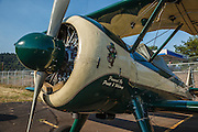 Modified Stearman at Oregon Aviation Historical Society.