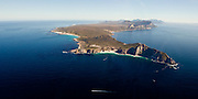 Cape Point photographed from a helicopter. Multiple stitched image. Greg Beadle shoots panoramic images