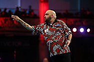 Kyle Anderson during the BetVictor World Matchplay at Winter Gardens, Blackpool, United Kingdom on 22 July 2018. Picture by Chris Sargeant.