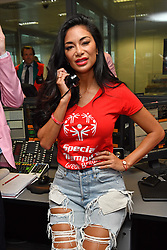 September 12, 2018 - London, England, United Kingdom - 9/11/18.Nicole Scherzinger at the 14th Annual BGC Charity Day at BGC Partners in Canary Wharf, London, England, UK. (Credit Image: © Starmax/Newscom via ZUMA Press)