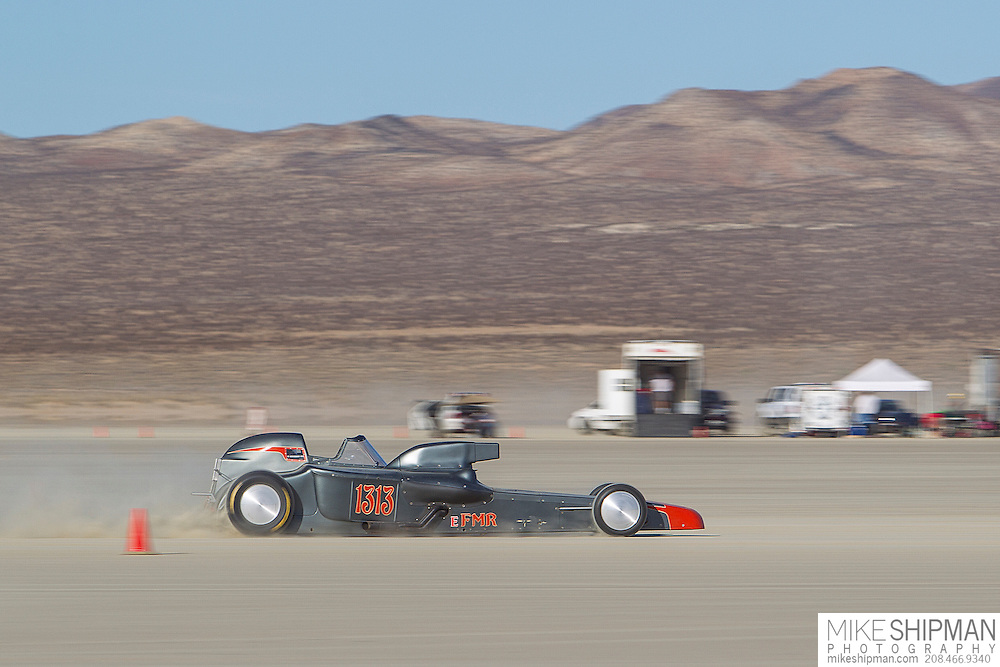 King Family Racing, 1313, eng E body FMR, driver Brian King, 185.635 mph, record 204.787