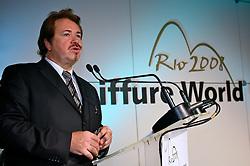 Klaus Peter Ochs duramte a assembléia geral e premiações do 20 Congresso Mundial da Intercoiffure - ICD Rio 2008, que acontece de 18 a 20 de maio, no hotel Intercontinental, no Rio de Janeiro . FOTO: Jefferson Bernardes / Preview.com