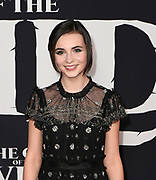 """13 February 2020 - Hollywood, California - Lara McDonnell at the World Premiere of twentieth Century Studios """"The Call of the Wild"""" Red Carpet Arrivals at the El Capitan Theater."""