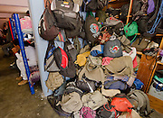 "Backpacks are piled in the entrance of migrants shelter ""San Juan Diego Cuauhtlatoatzin"" Lechería, Estado de México in this file photo, taken on March 30th, 2012. (Photo: Prometeo Lucero)"