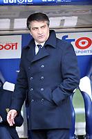 Fotball<br /> Italia<br /> Foto: Insidefoto/Digitalsport<br /> NORWAY ONLY<br /> <br /> l'allenatore del lecce luigi de canio<br /> <br /> 09.01.2011<br /> Lazio vs Lecce