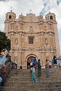 Messico,Chapas,San Cristóbal de Las Casas, la chiesa di Santo Domingo
