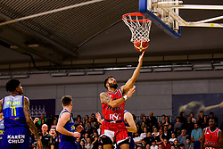 Lewis Champion of Bristol Flyers reaches for the basket - Photo mandatory by-line: Robbie Stephenson/JMP - 29/03/2019 - BASKETBALL - English Institute of Sport - Sheffield, England - Sheffield Sharks v Bristol Flyers - British Basketball League Championship