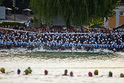 03.07.2011, Ironman Austria, Klagenfurt, Kaernten, im Bild Start des Ironman, EXPA Pictures © 2011, PhotoCredit: EXPA/ M. Kuhnke