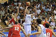 Trieste 08 Agosto 2012 - Amichevole Italia Croazia<br /> Nella Foto : ANGELO GIGLI<br /> Foto Ciamillo