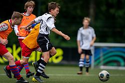 Ivan #5 of VV Maarssen  in action. VV Maarssen O14-1 played a friendly game against CDW O15-2. Maarssen won 9-2 on July 11, 2020 at Daalseweide sports park Maarssen.