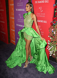 Celebs at Rihanna's 5th Annual Diamond Ball in New York. 12 Sep 2019 Pictured: Cindy Bruna. Photo credit: MEGA TheMegaAgency.com +1 888 505 6342