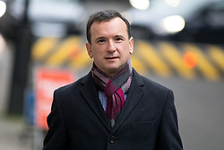 © Licensed to London News Pictures. 09/01/2018. London, UK. Secretary of State for Wales Alun Cairns leaving Downing Street after attending a Cabinet meeting this morning. Yesterday British Prime Minister Theresa May reshuffled her cabinet, appointing some new ministers. Photo credit : Tom Nicholson/LNP