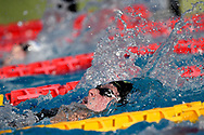 Kira Toussaint of Netherlands competes in the women 200m backstroke during the 58th Sette Colli Trophy International Swimming Championships at Foro Italico in Rome, June 27th, 2021.  Kira Toussaint placed fourth. <br /> Photo Andrea Staccioli / Deepbluemedia / Insidefoto