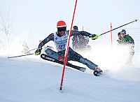 Eric Coffin competes in the Lafoley Spring Series J1 J2 alpine race at Gunstock Mountain Resort March 7, 2010.