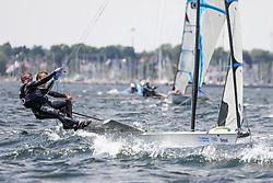 , Kiel - Kieler Woche 17. - 25.06.2017, 49er FX - FIN 101 - Martin MIKKOLA - Markus IHAMUOTILA - HSS