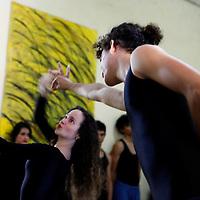 Central America, Cuba, Santa Clara. Dancers perform at Santa Clara Musical School of Art.
