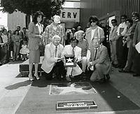 1985 Jamie Farr's Walk of Fame ceremony