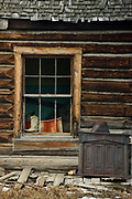 Derelect old Cabin in Grand Teton National Park