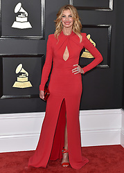 Celebrities arrive on the red carpet for the 59th Grammy Awards held at the Staples Centre in downtown Los Angeles, California. 12 Feb 2017 Pictured: Faith Hill. Photo credit: Bauergriffin.com / MEGA TheMegaAgency.com +1 888 505 6342
