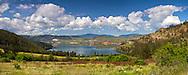 View of Cosens Bay from Kalamalka Lake Provincial Park near Vernon, British Columbia, Canada