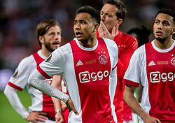 24-05-2017 SWE: Final Europa League AFC Ajax - Manchester United, Stockholm<br /> Finale Europa League tussen Ajax en Manchester United in het Friends Arena te Stockholm / Kenny Tete #2 of Ajax