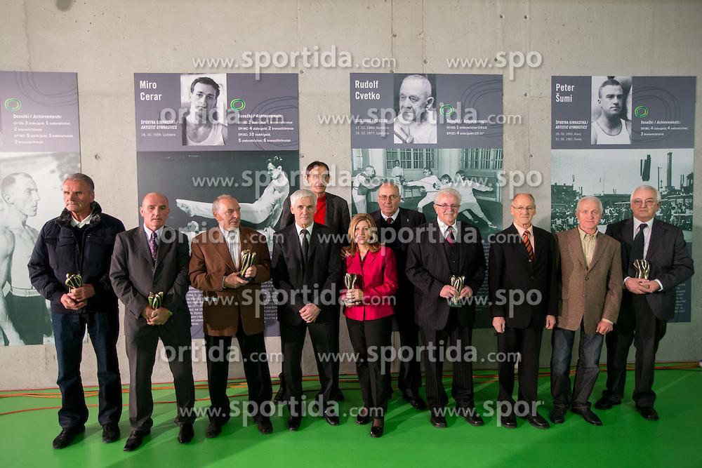 2012 Slovenia Hall of Fame induction ceremony, on December 19, 2012 in Arena Stozice, Ljubljana, Slovenia. (Photo By Vid Ponikvar / Sportida.com)