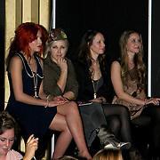 NLD/Amsterdam/20100215 -  inloop verkiezing Miss i Love Fashion, Chritina Curry, Victoria Koblenko