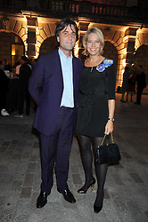 The HON.PHILIP & WENDY KNATCHBULL attend the private view of Anish Kapoor's latest exhibition at the Royal Academy of Arts, Piccadilly, London on 22nd September 2009