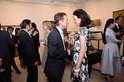 GEORDIE GREIG; BETTINA VON HASE, Korean Eye Dinner  hosted by The Dowager Viscountess Rothermere and Simon De Pury.Sponsored by CJ, Korean Food Globalization Team, Hino Consulting and Visit Korea Committee. Phillips de Pury Space, Saatchi Gallery.  Sloane Sq. London. 2 July 2009.
