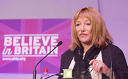 UKIP 2015 Spring Conference at the Winter Gardens Margate, Great Britain <br /> 28th February 2015 <br /> <br /> <br /> Kellie Maloney <br /> formerly Frank Maloney <br /> <br /> <br /> <br /> Photograph by Elliott Franks <br /> Image licensed to Elliott Franks Photography Services