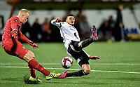 Fotball, 22. september  2019 , Eliteserien , Mjøndalen - Rosenborg<br /> Bjørn Maars Johnsen  , RBK<br /> Julian Faye Lund , MIF
