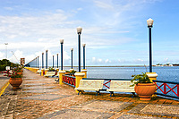 waterfront promenade in recife pernambuco state brazil