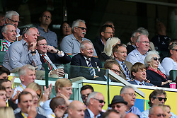 Bristol Rugby majority shareholder Steve Lansdown watches from the stands - Rogan Thomson/JMP - 03/09/2016 - RUGBY UNION - Twickenham Stadium - London, England - Harlequins v Bristol Rugby - Aviva Premiership London Double Header.