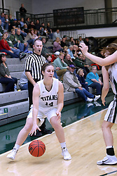 07 January 2017:  Shelby Gray during an Wheaton Thunder and the Illinois Wesleyan Titans in Shirk Center, Bloomington IL