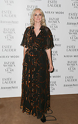 Joely Richardson arrives at Claridge's Hotel in London to attend the Harper's Bazaar Women of the Year Awards.