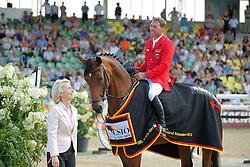 Dreher Hans Dieter, (GER), Embassy II<br /> CSIO Nations Cup - Mannheim 2015<br /> © Hippo Foto - Stefan Lafrentz