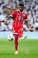 Bayern Munich David Alaba during Semi Finals UEFA Champions League match between Real Madrid and Bayern Munich at Santiago Bernabeu Stadium in Madrid, Spain. May 01, 2018. (ALTERPHOTOS/Borja B.Hojas)