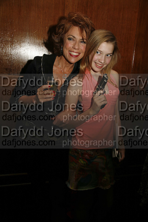 Kathy Lette and her daughter Georgina Robertson, Krug host the launch of Kathy Lette's book. ' How to Kill Your Husband' the Courthouse Hotel Great Marlborough St. London. 26 April 2006. ONE TIME USE ONLY - DO NOT ARCHIVE  © Copyright Photograph by Dafydd Jones 66 Stockwell Park Rd. London SW9 0DA Tel 020 7733 0108 www.dafjones.com