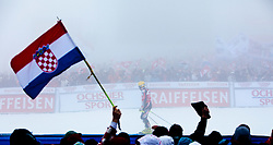 19.03.2011, Pista Silvano Beltrametti, Lenzerheide, SUI, FIS Ski Worldcup, Finale, Lenzerheide, Podium, im Bild Gesamtweltcup Sieger, Ivica Kostelic (CRO) // Overall Weltcup Winner, Men, Ivica Kostelic (CRO) during Men´s Downhill, at Pista Silvano Beltrametti, in Lenzerheide, Switzerland, 19/03/2011, EXPA Pictures © 2011, PhotoCredit: EXPA/ J. Feichter