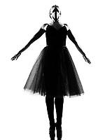 beautiful caucasian tall woman ballerina ballet tutu dancer dancing standing  tiptoe pose  full length on studio isolated white background