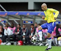 Fotball <br /> FIFA World Youth Championships 2005<br /> Emmen<br /> Nederland / Holland<br /> 12.06.2005<br /> Foto: Morten Olsen, Digitalsport<br /> <br /> Brasil v Nigeria 0-0<br /> <br /> Gladstone - Brasil