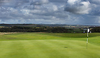 WIMEREUX   (FR.) - green hole 4  van Wimereux Golf Club . Copyright Koen Suyk