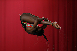 Rhea Gayle of Plymouth Diving competes in the Womens 3m Springboard Preliminary - Photo mandatory by-line: Rogan Thomson/JMP - 07966 386802 - 22/02/2015 - SPORT - DIVING - Plymouth Life Centre, England - Day 3 - British Gas Diving Championships 2015.